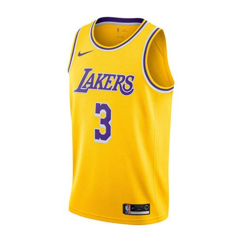 Nike NBA LA Lakers Anthony Davis Icon Edition Junior Jersey