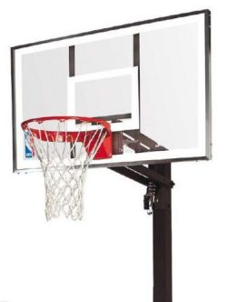 Spalding But de basket Spalding NBA Gold Exacta High Lift In-Ground
