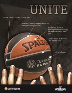 Spalding TF-1000 Legacy Euroleague Basketball
