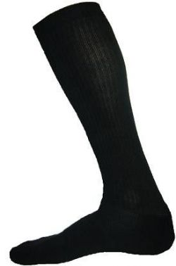 Sport Action Basketball Knee Socks - black