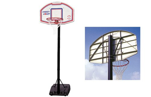 Sure Shot 510 New Orleans Portable Basketball Unit avec panneau polypropylène