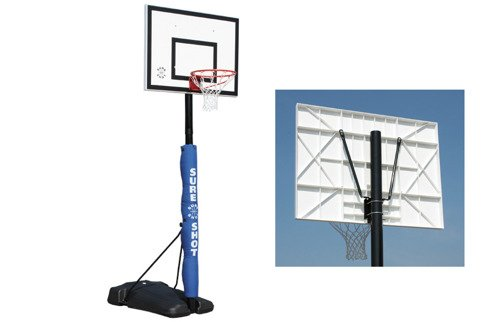 Sure Shot 521 Seattle Portable Basketball Unit avec panneau polypropylène