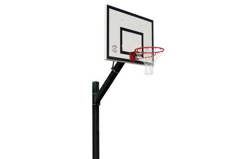 Sure Shot Heavy Duty Inground System Euro Court Basketball Unit - 661